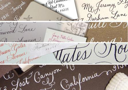 Wedding Wednesday Calligraphy Intertwined Weddings