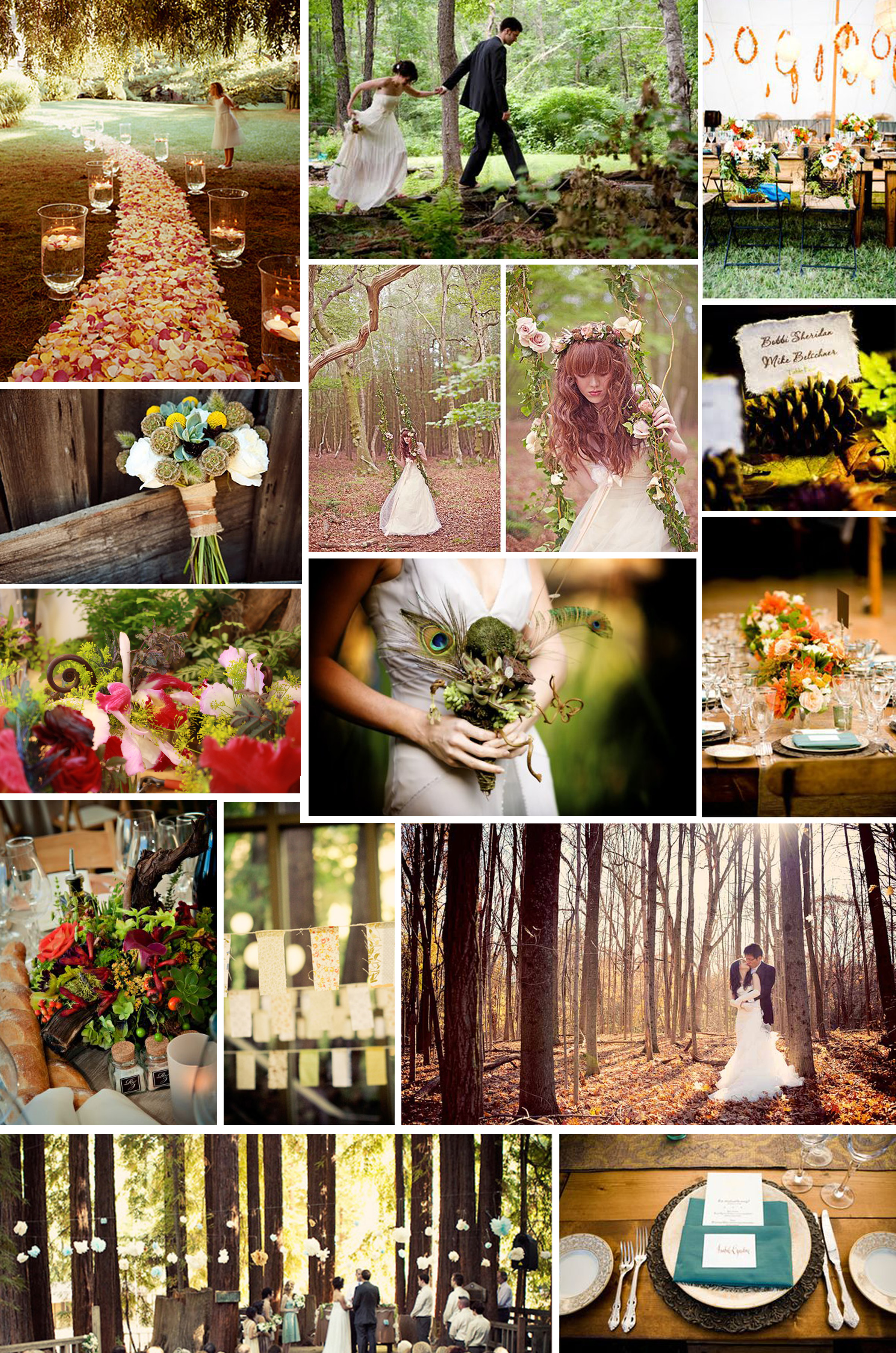 Themed Thursday Woodland Nymph Intertwined Weddings Events