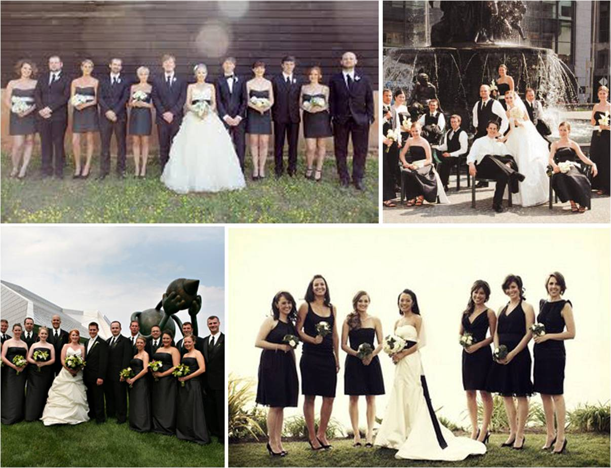 WEDDING WEDNESDAY ITS A NICE DAY FOR A BLACK WEDDING