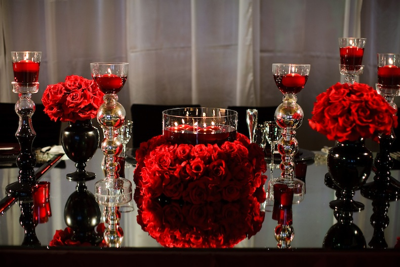 Red And Black Wedding Favors Ideas