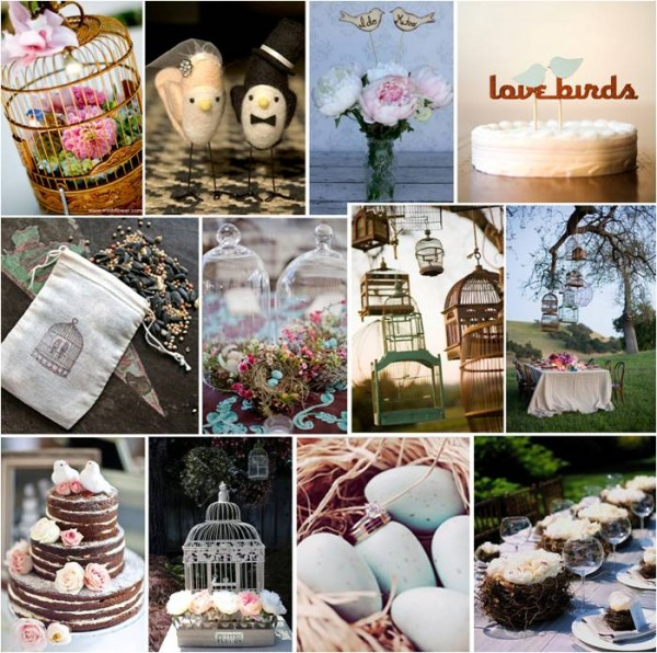 Pretty parties love birds engagement party intertwined weddings photo junglespirit Gallery