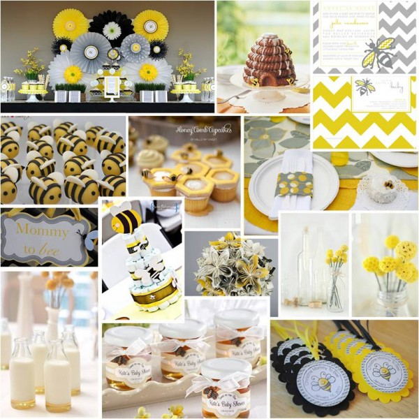 Pretty Parties Sweet As Honey Baby Shower Intertwined Weddings