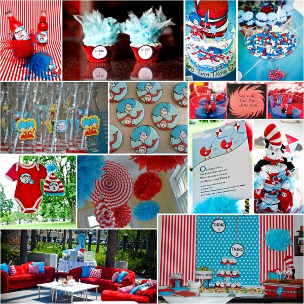 PRETTY PARTIES: THING ONE, THING TWO – TWIN BABY SHOWER
