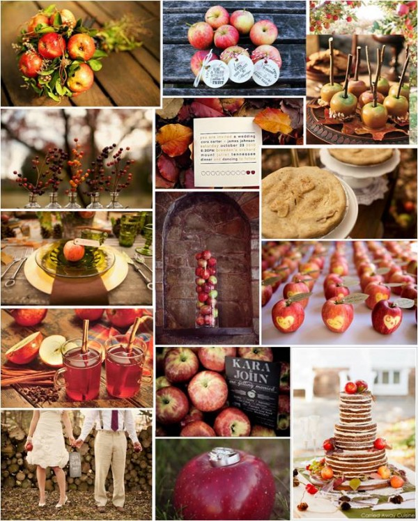 THEMED THURSDAY: APPLE OF MY EYE | Intertwined Weddings & Events