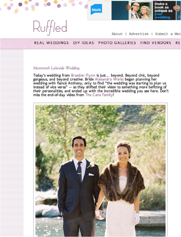 INTERTWINED EVENTS FEATURED ON RUFFLED BLOG | Intertwined ... Ruffled Blog