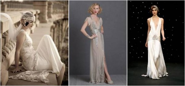Great Gatsby Wedding Gowns
