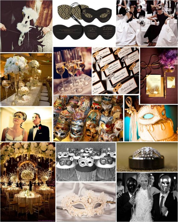 Masquerade Ball Wedding Ideas