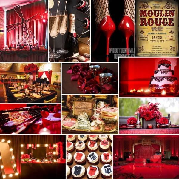 Moulin Rouge Bridal Shower