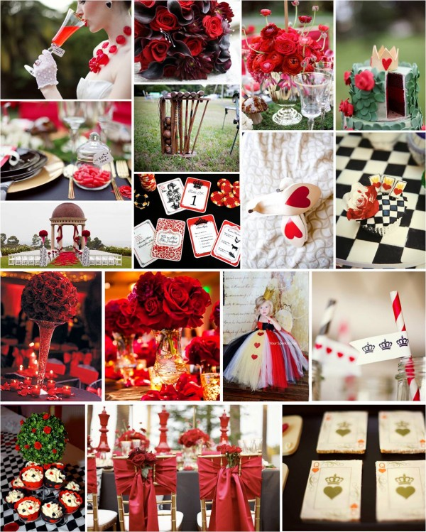 Wedding hearts decorations gallery wedding decoration ideas heart wedding theme image collections wedding decoration ideas themed thursday queen of hearts wedding queen of junglespirit Images