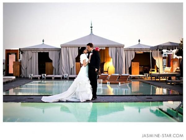 SLS Hotel Wedding